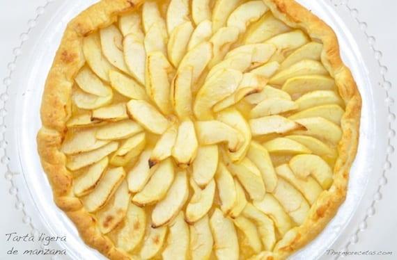 tarta-ligera-de-manzana