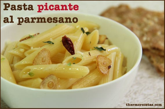 pasta-picante-al-parmesano-thermorecetas