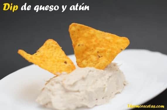 Dip_queso_atún