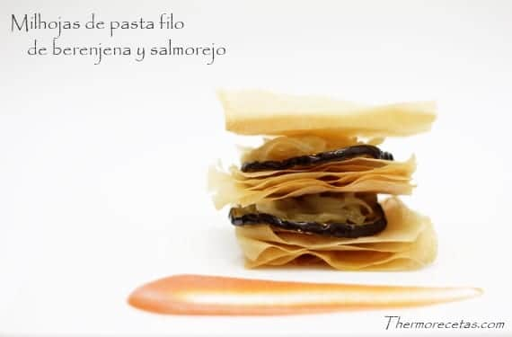 Milhojas_pasta_filo_berenjena_salmorejo
