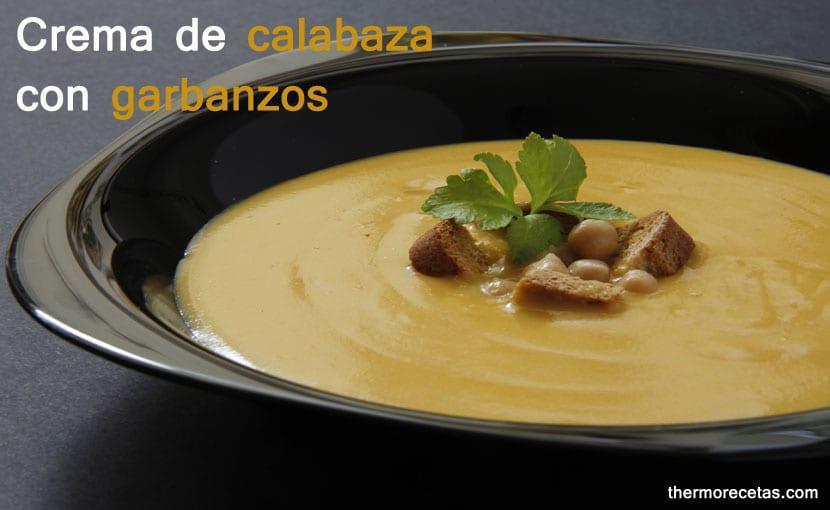 crema-de-calabaza-con-garbanzos-thermorecetas