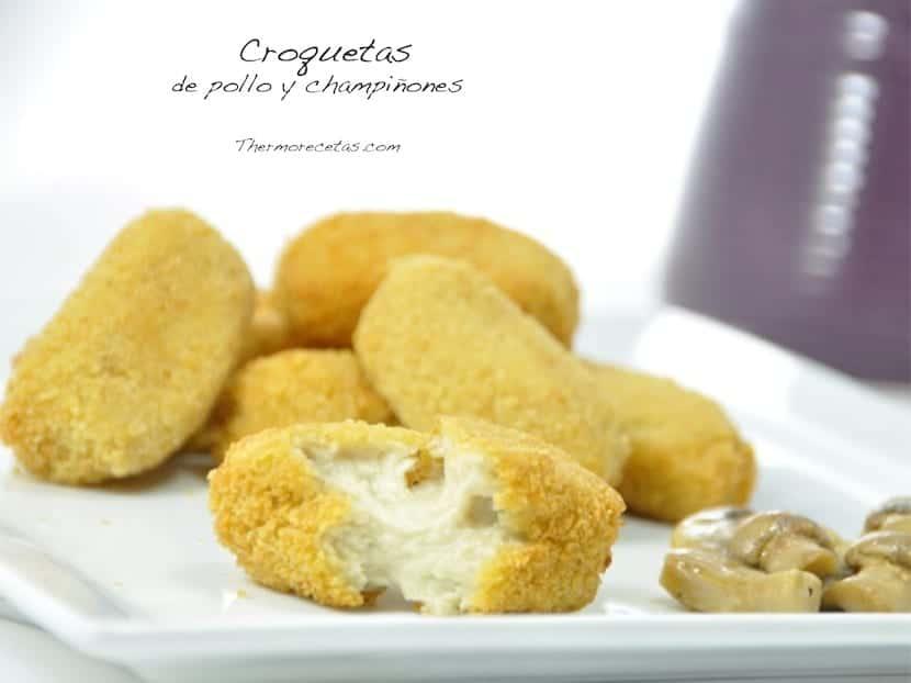 croquetas-de-pollo-y-champiñones