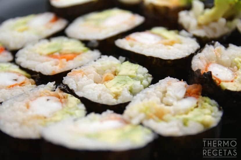 Makis gambón tempura 1