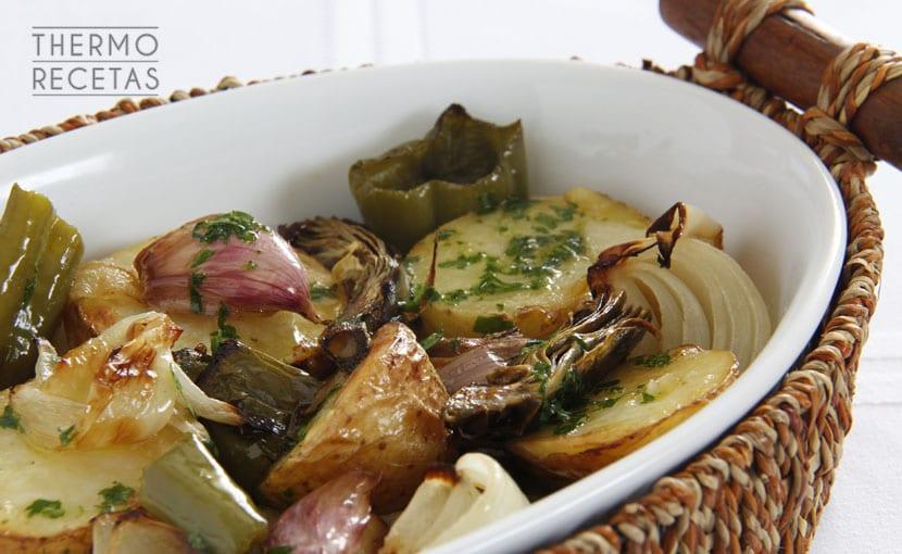 verduras-asadas-con-aceite-de-perejil-thermorecetas