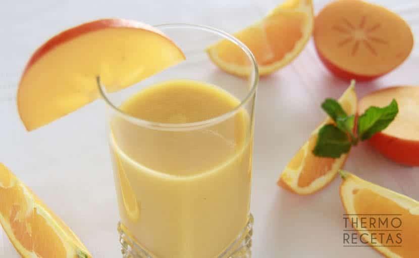 zumo-de-caqui-y-naranja-thermorecetas