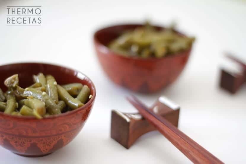 Judías verdes orientales