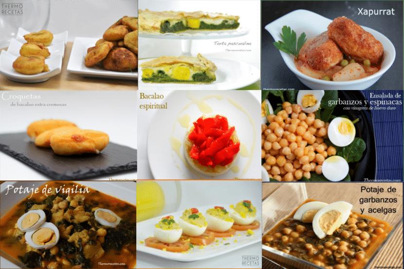 9 recetas saladas para Semana Santa