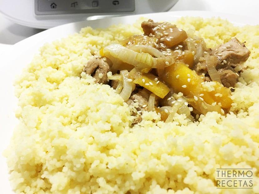 cuscus con pollo
