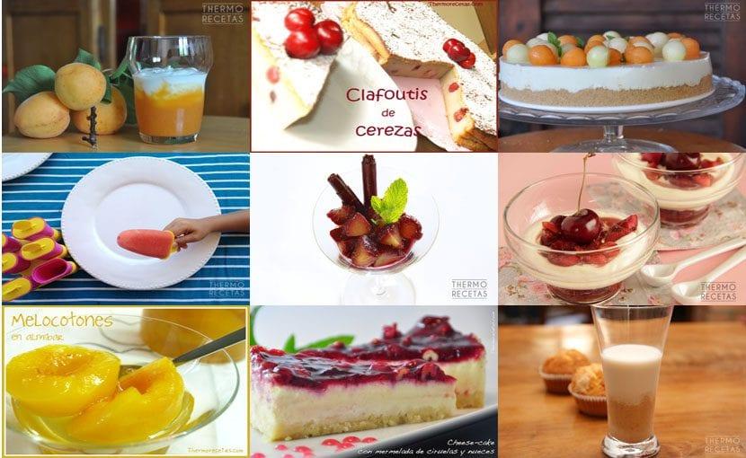 Recetas con fruta de verano
