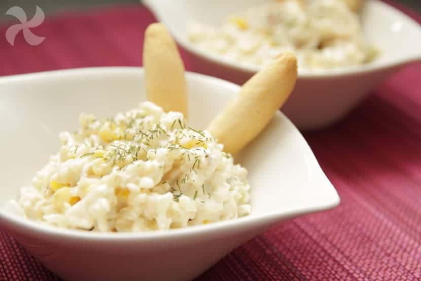 Ensalada de arroz basmati con ma z mayonesa y un toque de - Ensalada de arroz light ...