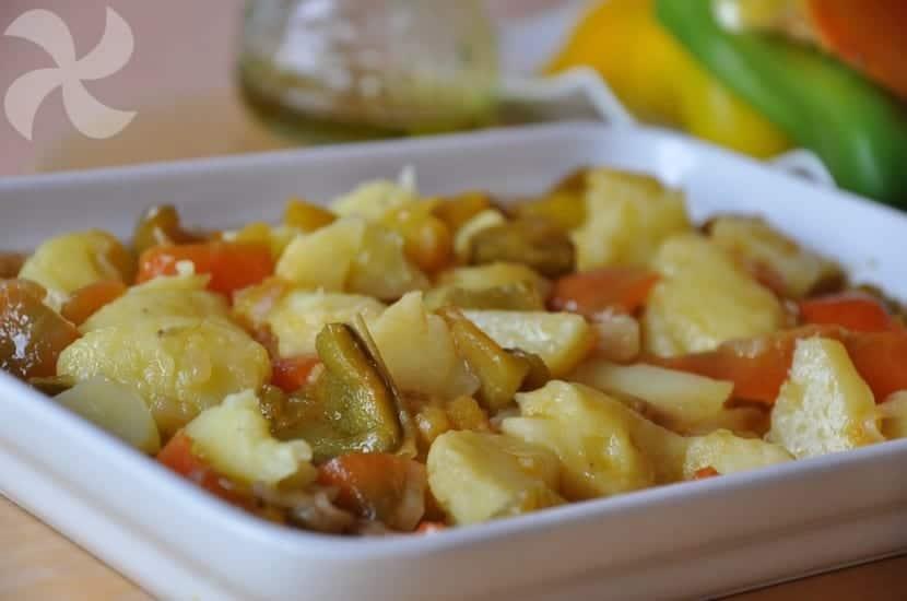 Pimientos en salsa