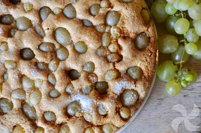 Bizcocho de uvas
