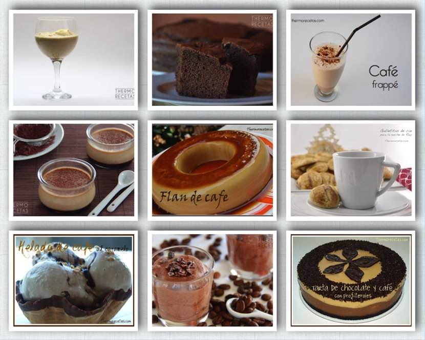 9 recetas con café