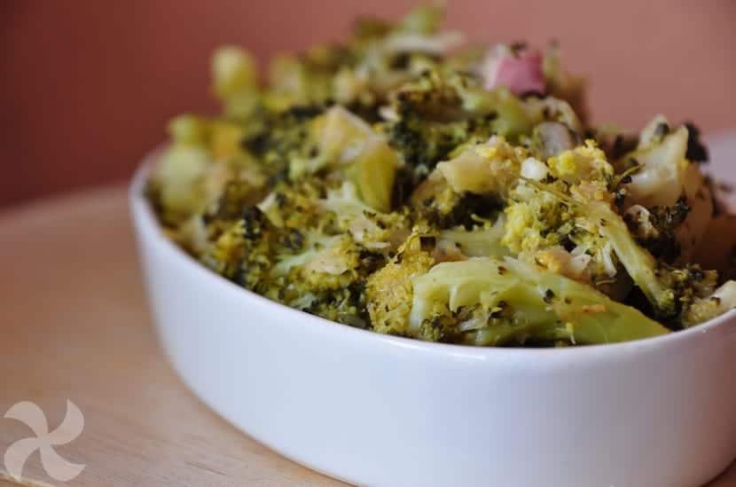 Brócoli Rehogado