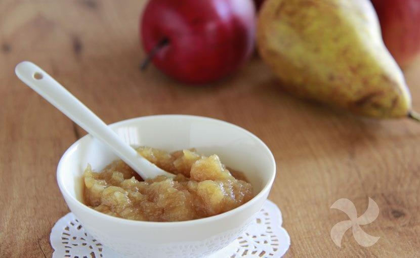 Mermelada Sin Azúcar De Pera Y Manzana