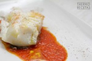 Bacalao con tomate confitado2