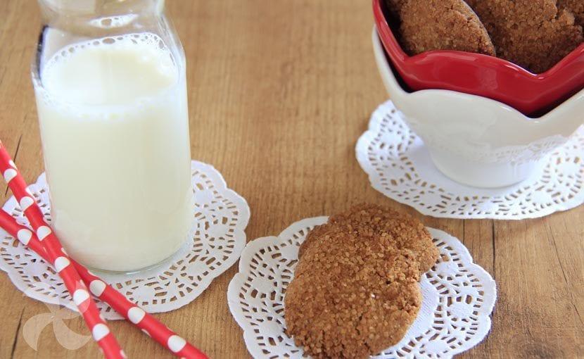 Galletas rústicas con harina de quinoa