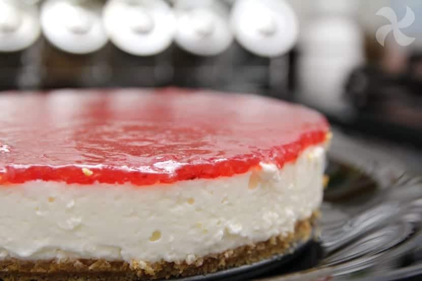 Cheescake o tarta de queso estilo americana sin horno