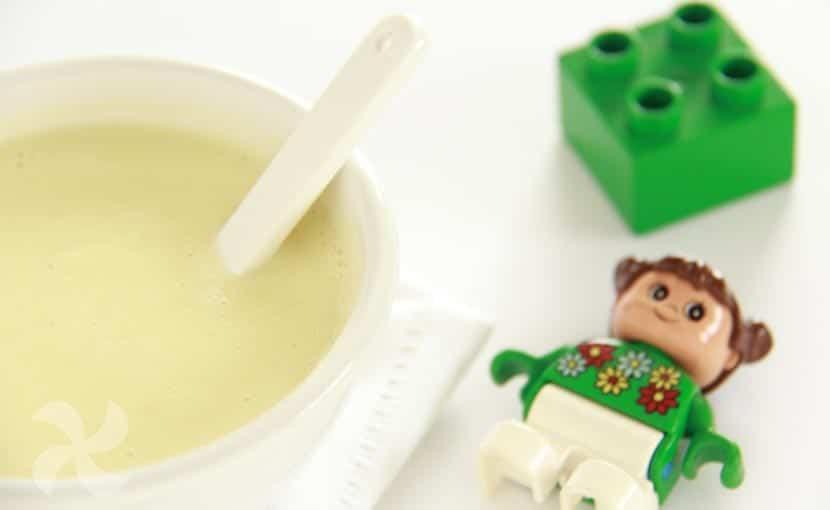 Papilla de manzana con cereales sin gluten - Recetas Thermomix