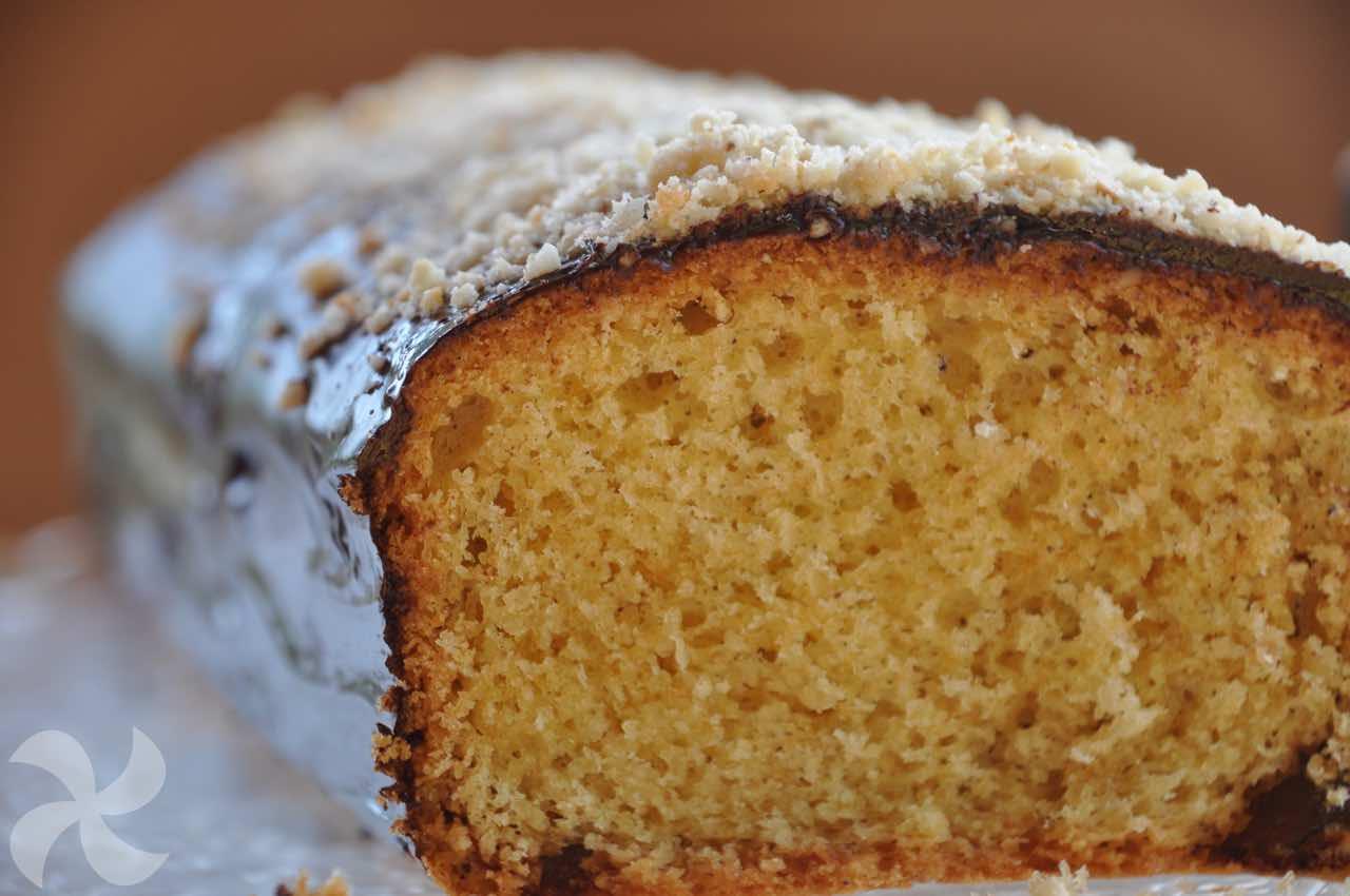 Plum cake de avellanas - Recetas Thermomix