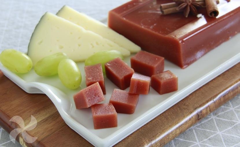 Dulce de membrillo sin azúcar y con agar agar