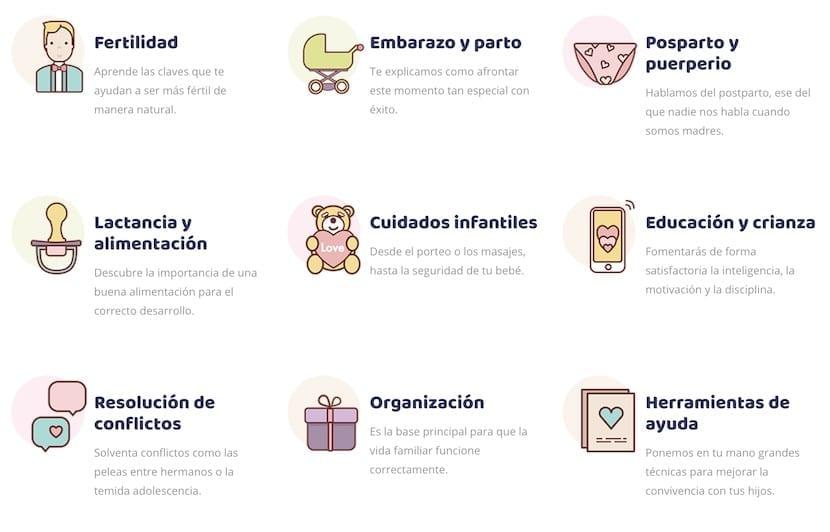 Cursos bundle de maternidad
