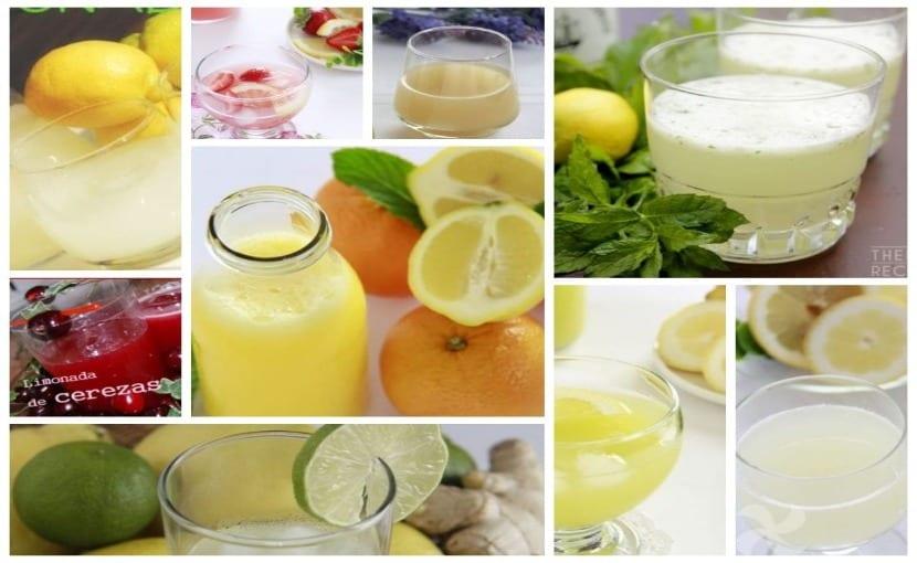 limonada entrap jengibre y menta thermomix