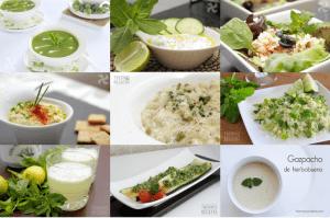 9 recetas saladas de hierbabuena