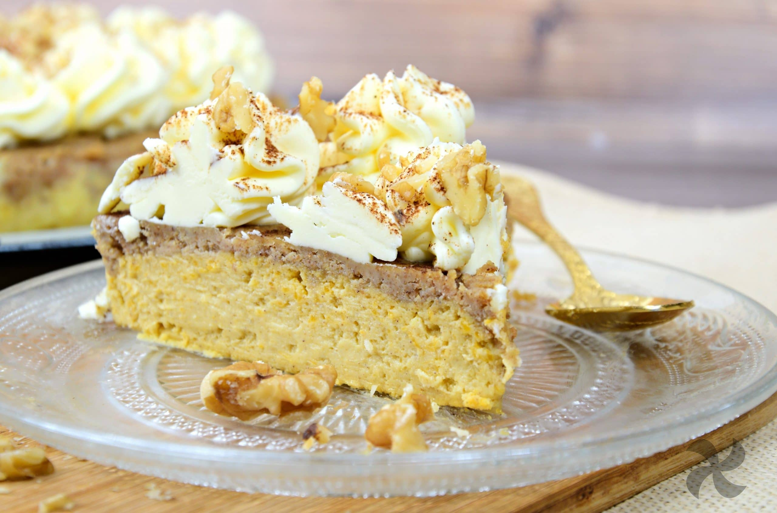 tarta de queso con calabaza