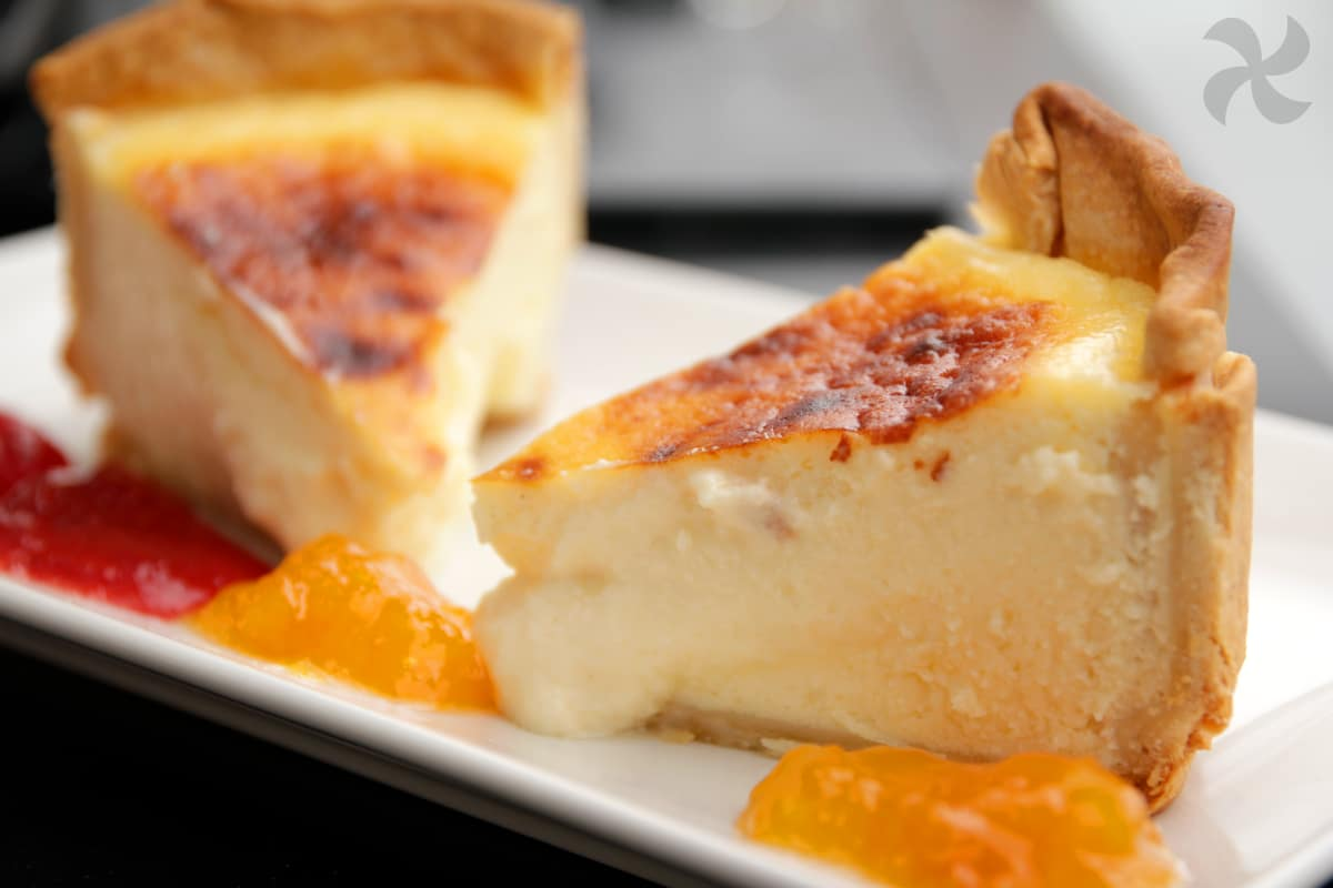 tarta de queso manchego