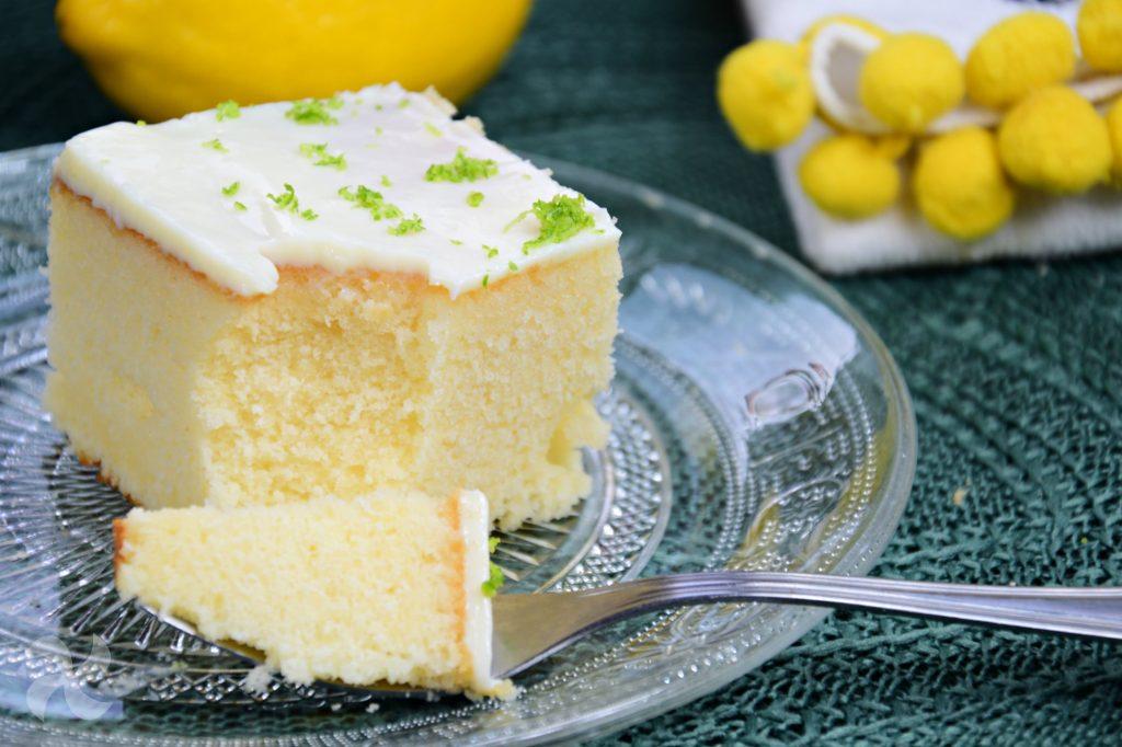 Bizcocho fresco de limón