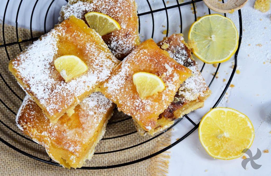 Barritas de limón perfectas