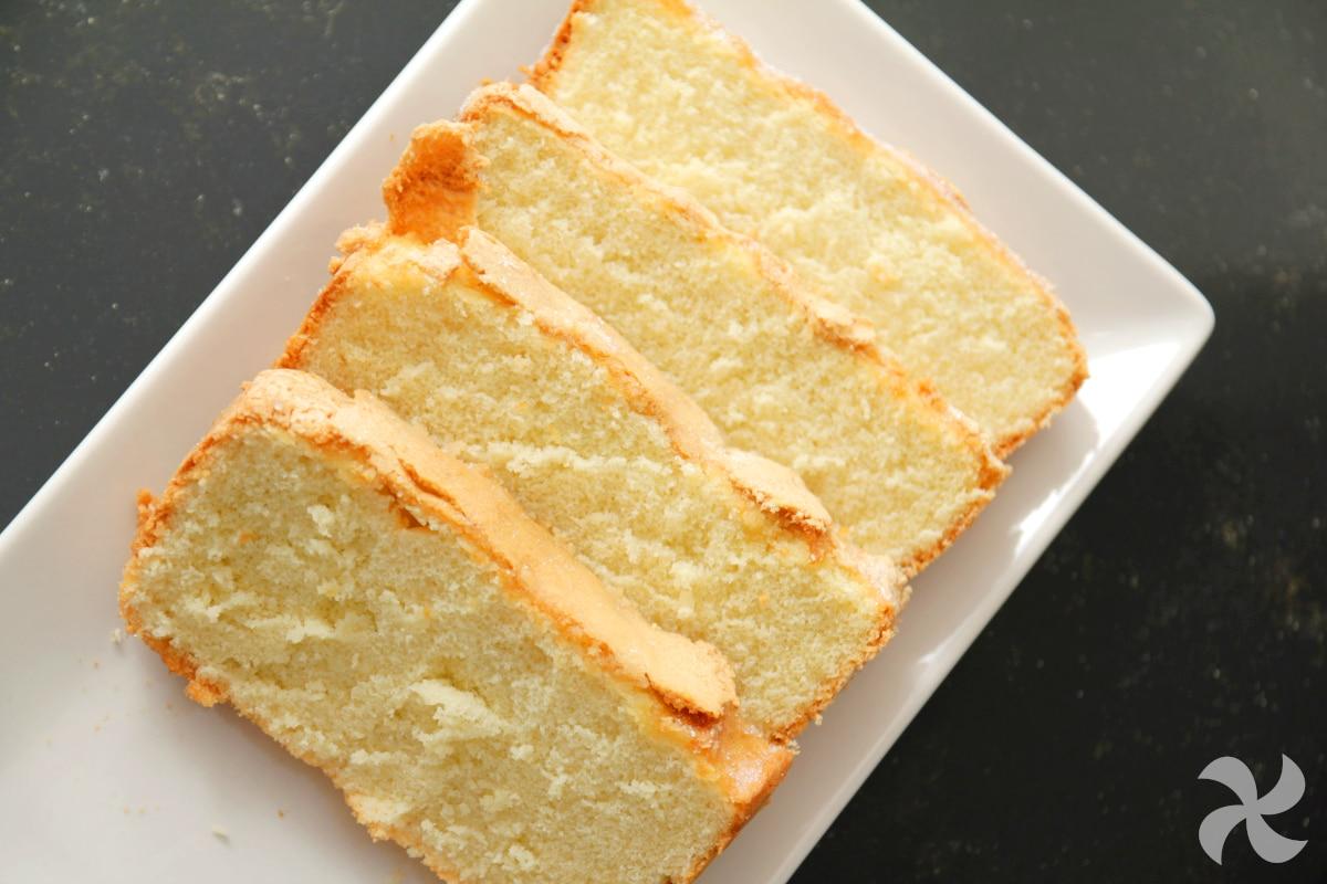 Bizcocho super esponjoso de limón y vainilla1