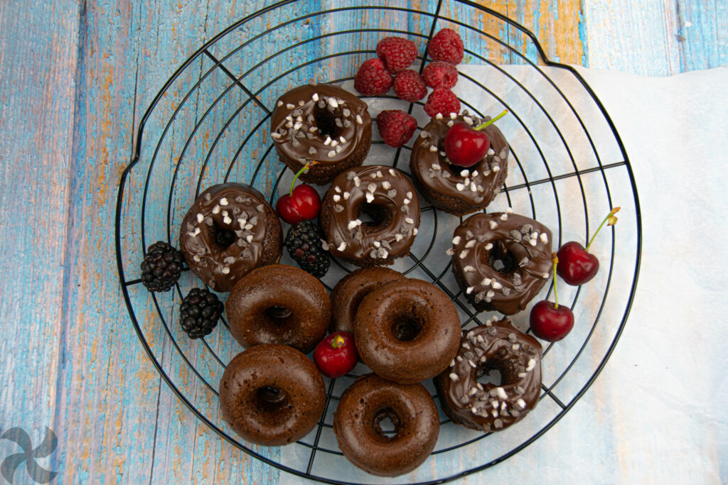 Donuts muerte por chocolate