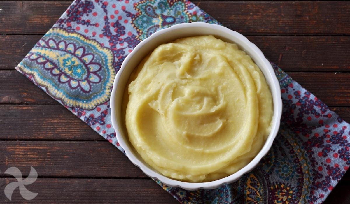 Puré de patatas con ajo