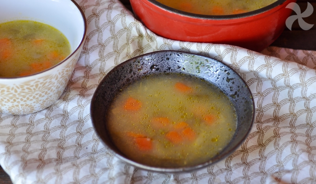 Sopa de verduras en Thermomix