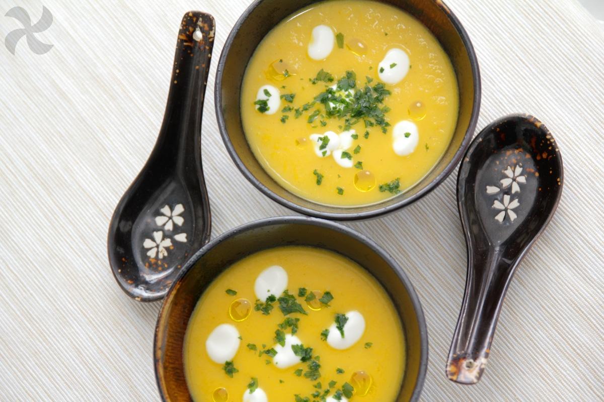 Sopa de calabaza y jengibre2